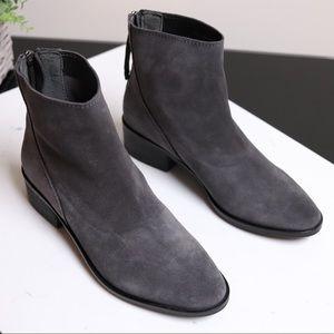 🌸BOGO Dolce Vita Dark Grey Suede Ankle Boots